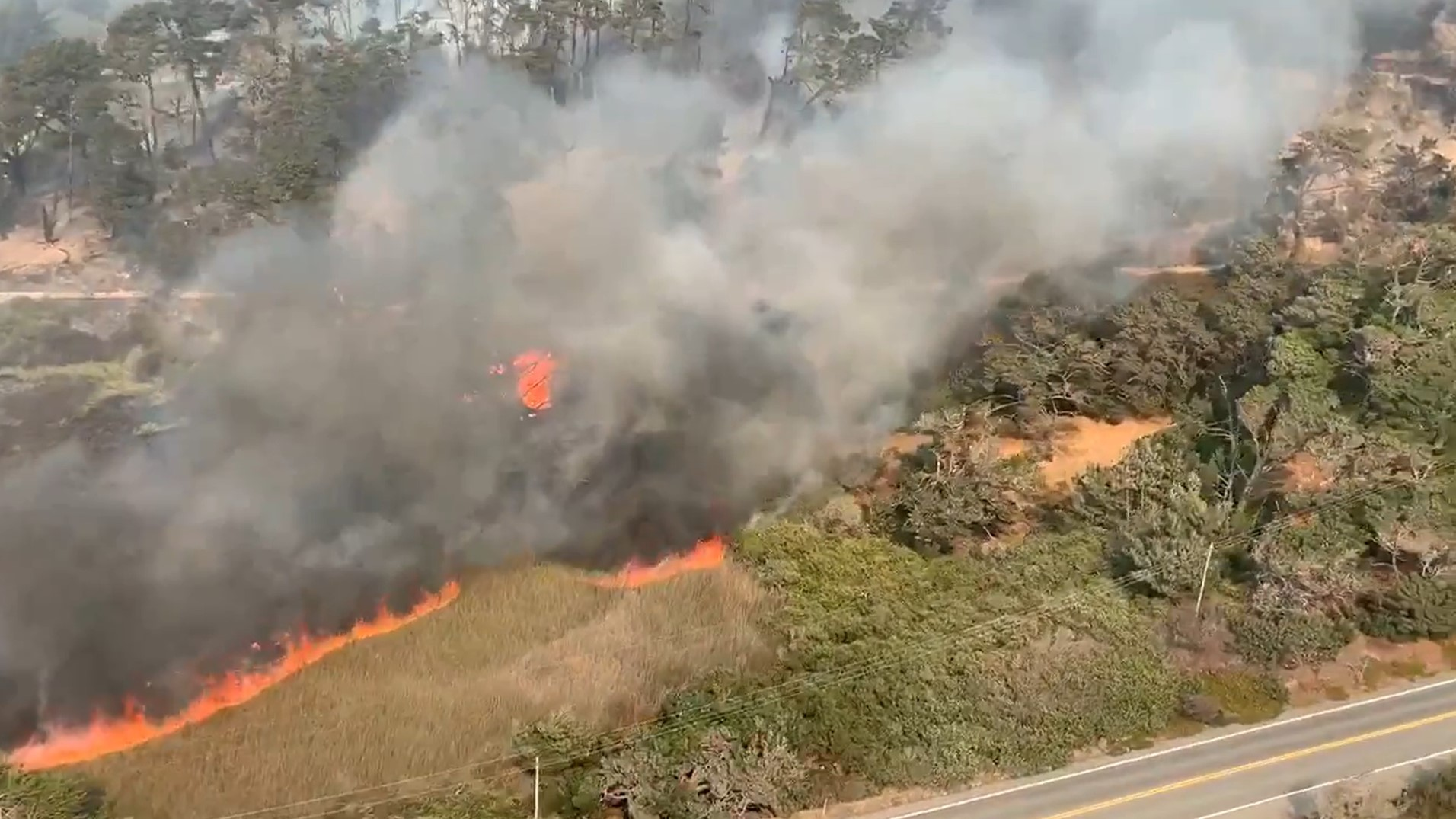 Wildfires Spread Rapidly, Near Homes In Cordoba