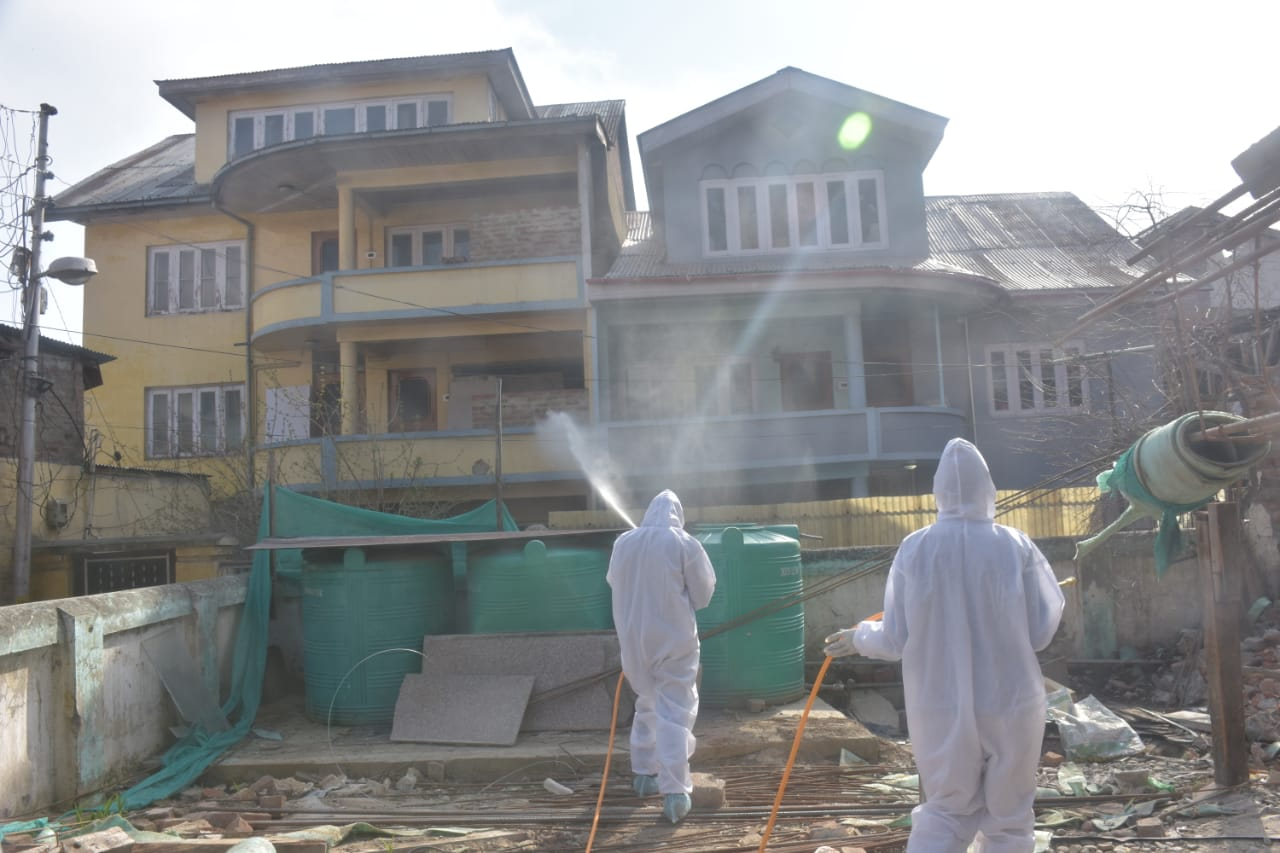 Corona Pandemic in Kashmir and the Administrative Response