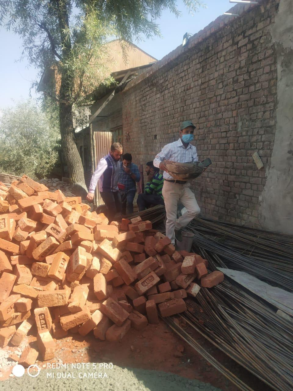 SMC Conducts demolition drive in Hawal, Barzulla