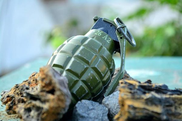 Grenade Attack on CRPF Party, ASI injured
