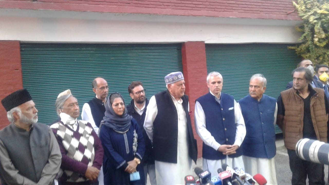 Who is leading JKPM party?