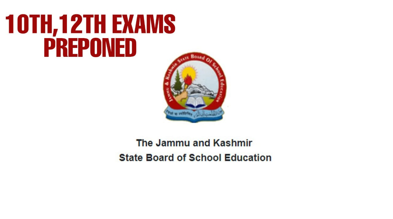 10th, 12th Class Exams Preponed due to Panchayat Elections